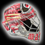 Cam Ward Charity Goalie Mask Auction 2008
