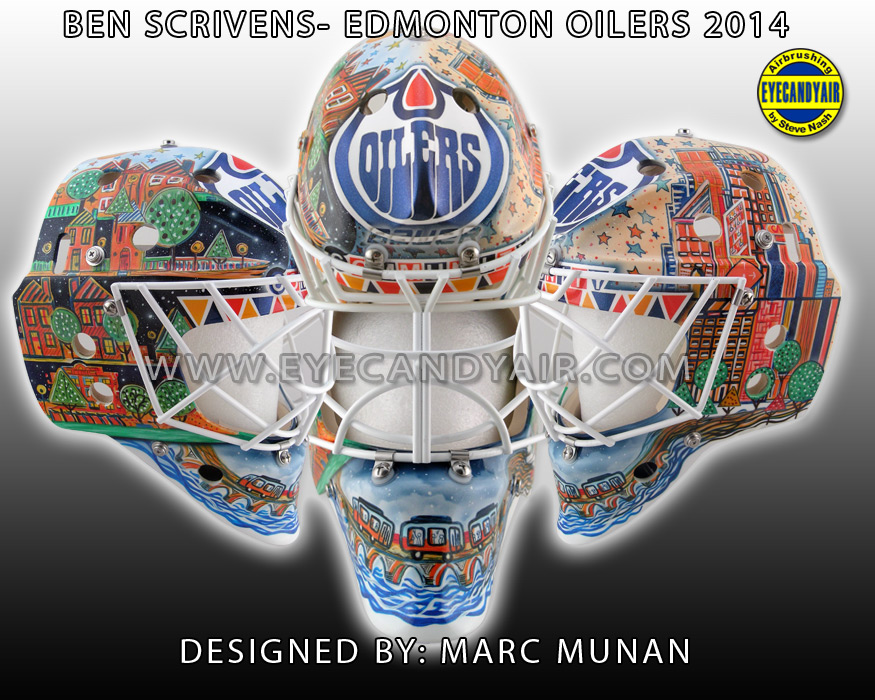 Ben Scrivens' 2014 Edmonton Oilers Mental Health Awareness ...