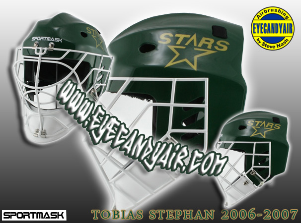 Tobias Stephan 2006 Custom Airbrush Painted Sportmask Mage by EYECANDYAIR