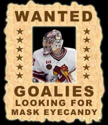 EYECANDYAIR Goalie Mask Airbrush Painting