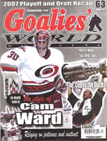 Cam Ward Goalies World EYECANDYAIR paint job
