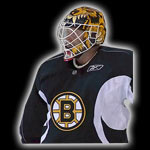 Tim Thomas Demon Bear mage goalie mask